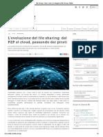 L'Evoluzione Del File Sharing- Dal P2P Al Cloud, Passando Dai Pirati