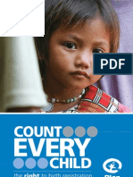 Count Every Child - the right to Birth Registration