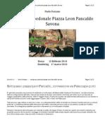 2014 03 17 - Paolo Forzano Sottopasso Pedonale Piazza Leon Pancaldo Savona