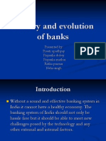 History and Evolution of Banks- excerpt