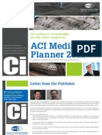 Concrete International 2011 Media Planner
