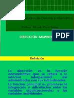 4. Dirección