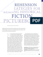 comprehension strategies for reading historical fiction