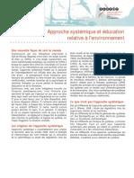 Approche Systémique Et Éducation