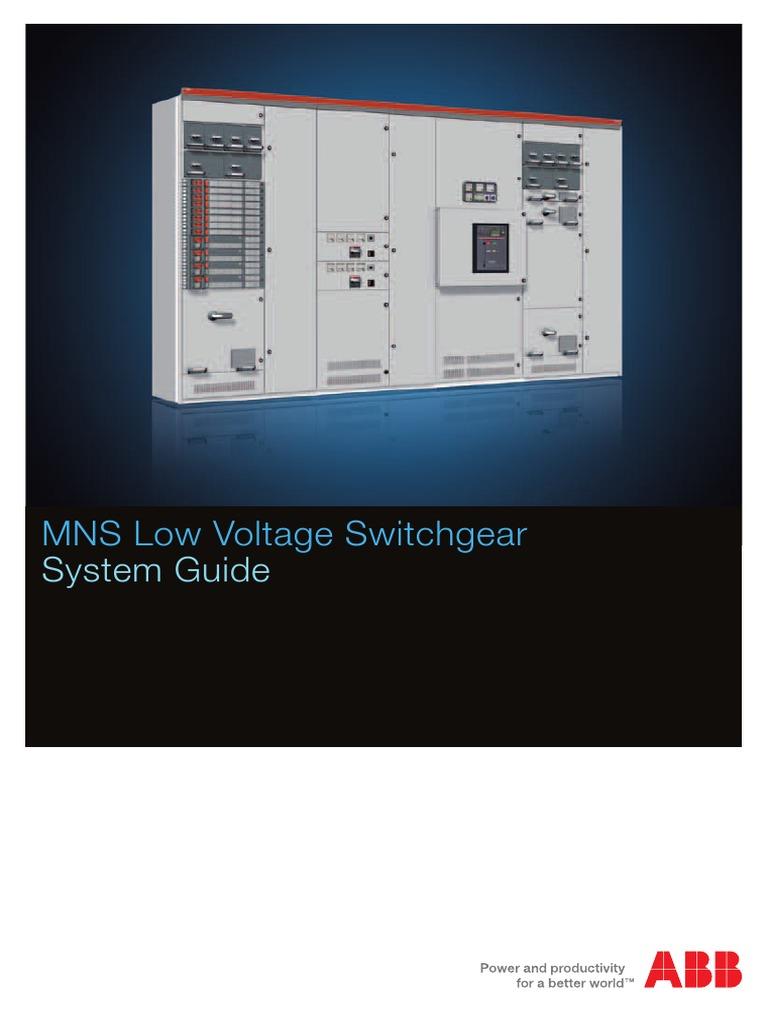 abb mns system guide switch modularity rh es scribd com ABB Medium Voltage Switchgear ABB Switchgear Schweitzer Engineering Laboratories