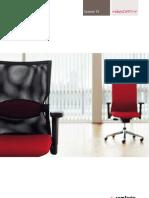 Comforto - systeem 55 bureaustoelen