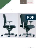 Comforto - systeem 77 bureaustoelen