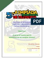 5ta Olimpíada Latinoamericana de Filosofía