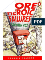 Level 3 - More Heroic Failures - Penguin Readers