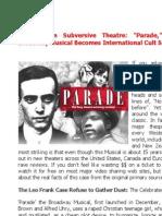 Leo Frank - Parade - The Musical