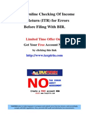 Secrets to Prevent BIR Audit and Eliminate Tax Assessments
