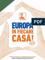 Manifestul PDL pentru Europarlamentare