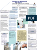 How do patients and doctors communicate in the hospital? Assessing shared decision making and interpersonal behaviors