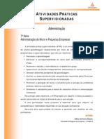 ATPS 2014 1 ADM 7 Administracao de Micro e Pequenas Empresas