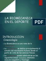 La Biomecanica en El Deporte