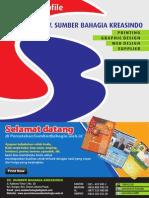 Company Profile Percetakan Sumber Bahagia Kreasindo