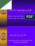 ceramah ayuh! jom_belajar for pmr-spm