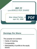 IAS 33 EPS