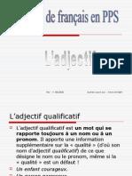 Grammaire français ->  l'adjectif