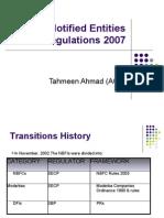 NBFC & Notified Entities Regulations 2007