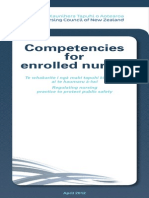 Competencies for Enrolled Nurses April 2012
