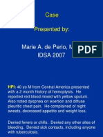 IDSA Fellows Day 2011 PowerPoint Case Report Example