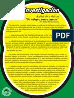 UDL_Inv-Análisis de La Película -Milagro Por Lorenzo- Rafa