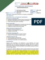 Diario de Campo Del Investigador n 06-Juica