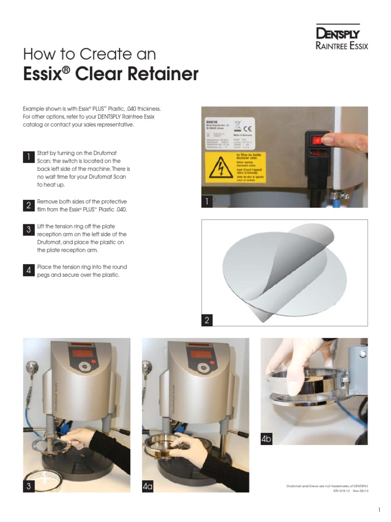 Essix How to Clear Retainer | Industries | Industrial Processes