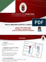 Papel de Laboratorio Clinico en Dialisis