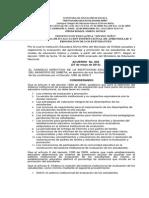 Evaluacion Institucional Ajustes 2014