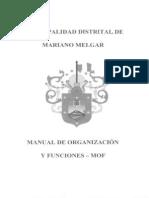 1-Manual de Organización y Funciones - Mof