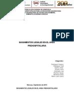 Basamentos Legales en El Area Prehospitalario