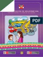Guía  Educacion en Seguridad Vial para Profesores y Tutores de Educación Secundaria