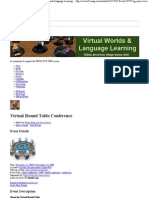 Virtual Round Table Conference - 4 Questions List