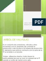 Arbol de Valvulas Exposicion