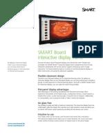 Factsheet SMART Interactive Display frame Corporate ENG