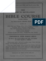 Genesis to Revelation Course