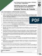 004 - Assistente Tecnico de Transito TIPO D