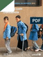 situao da infancia em 2013