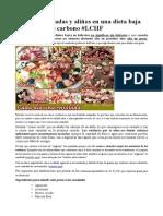Guía de Ensaladas y Aliños en Una Dieta Baja en Hidratos de Carbono