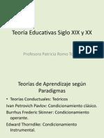 Copia de Teoría Educativas Siglo XIX y XX