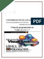 Guia Para Programas en Visual