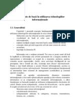 Concepte de baz în utilizarea tehnologiilor informaionale