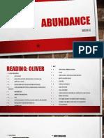 week 6 - abundance