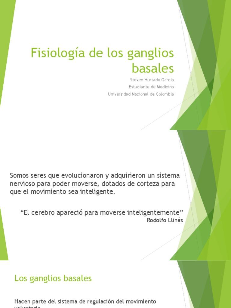 Fisiología de Los Ganglios Basales