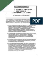 TESIS Recomendaciones Para El Desarrollo Industrial Sostenible en Latinoamerica y El Caribe