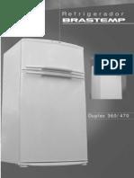 Refrigerador Brastemp Duplex 47o Brd47b_manual