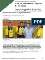 Médico Que Morreu Na PB Trabalhava de Graça Para Ajudar Clube Da Cidade _ Globoesporte