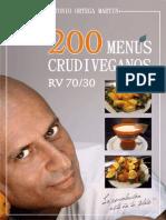 200 Menus RV 70-30 Antonio Ortega Martin